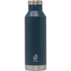 MIZU V6 Botella con Aislamiento con Tapa Acero Inoxidable 600ml, azul